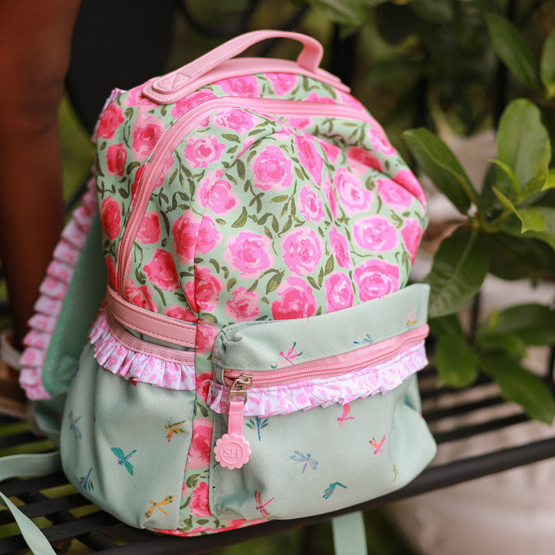 Ridley Toddler Backpack - Covered in Roses