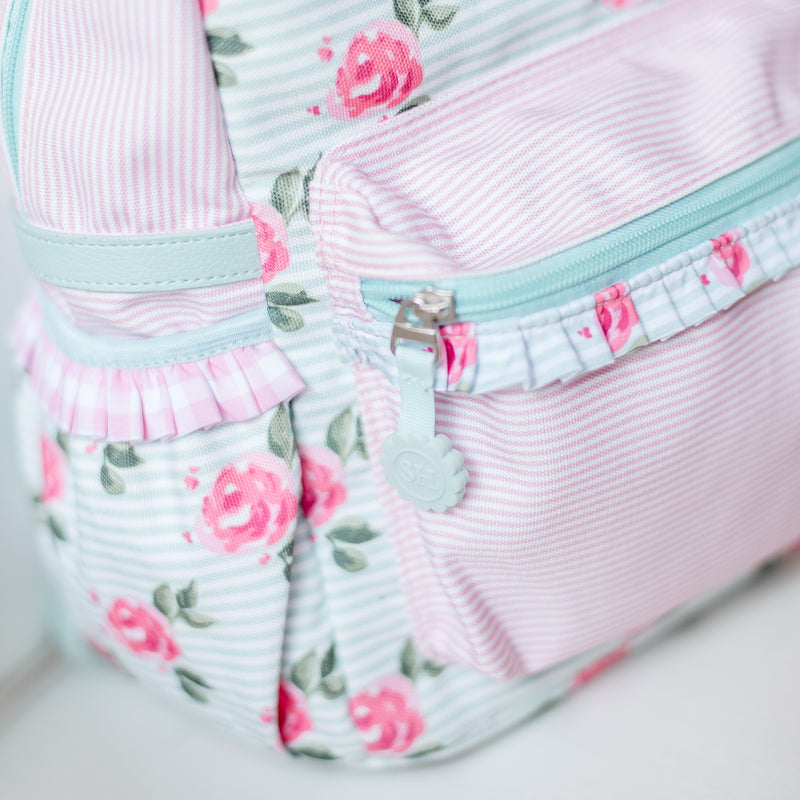 Ridley Toddler Backpack - Sweet Peonies