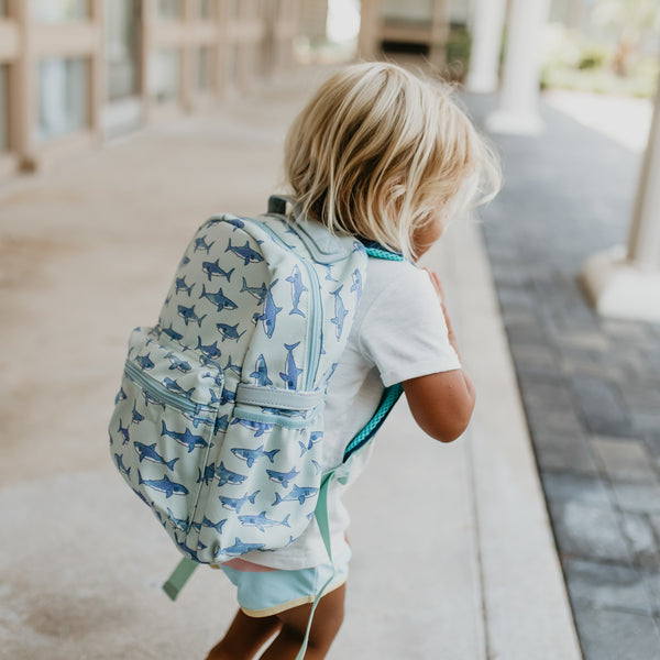 Ridley Toddler Backpack - Shark Bite