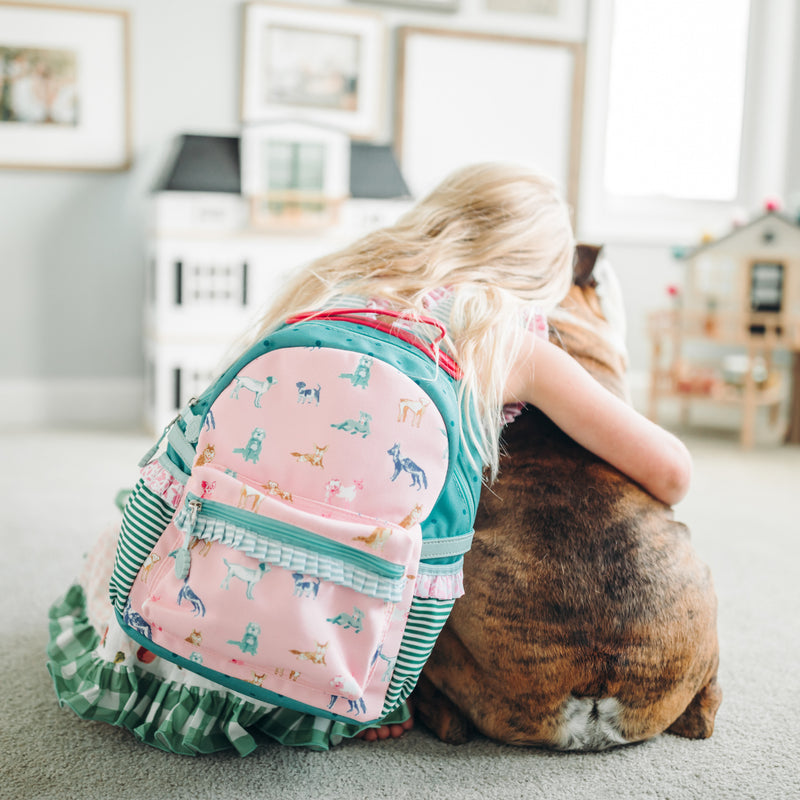 Ridley Toddler Backpack - Dogs
