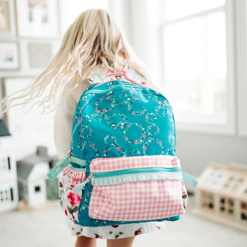 Ridley Backpack - Pink Whirlpool