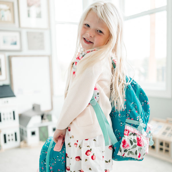 Ridley Toddler Backpack - Pink Whirpool