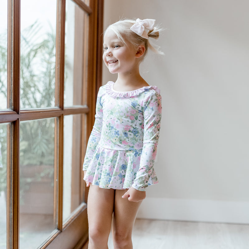 Skirted Leotard - Blooms