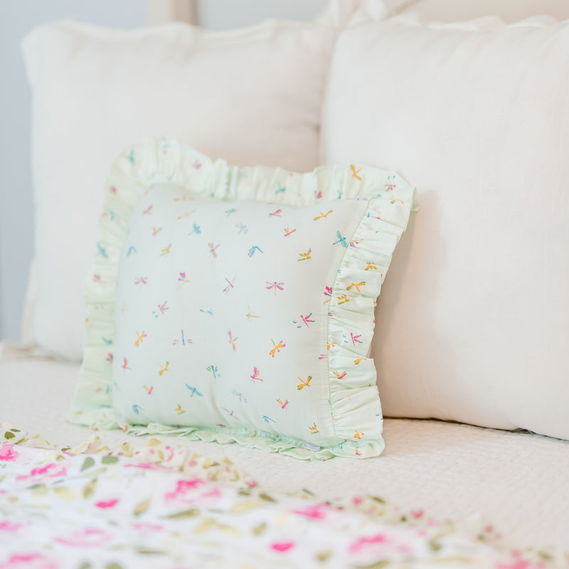 14 x 14 Pillow Cover - Dragonfly