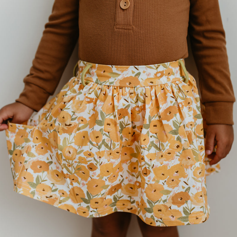 Garden Skort - Sunflower
