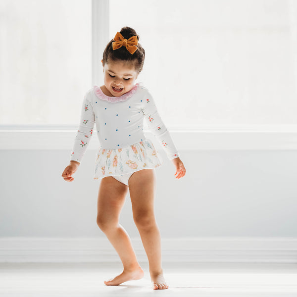 Skirted Leotard - Dotty