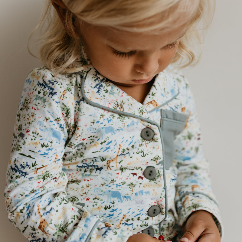 Kid's Cozy PJ - Safari