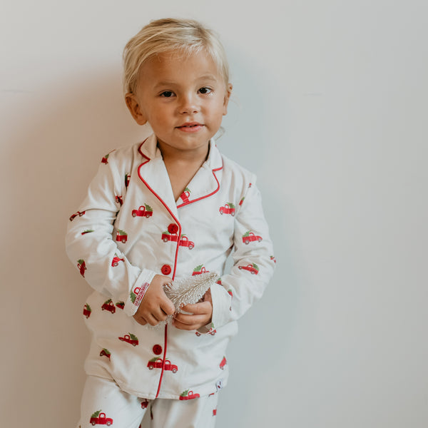 Cozy PJs - Red Truck