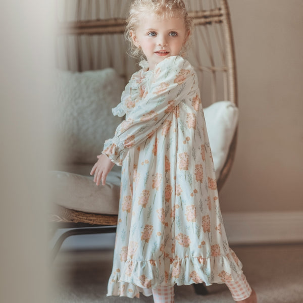 Sweet Ruffled Robe - Fall Dreams