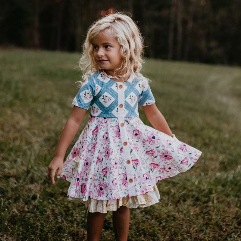 Prim Dress - Poppies