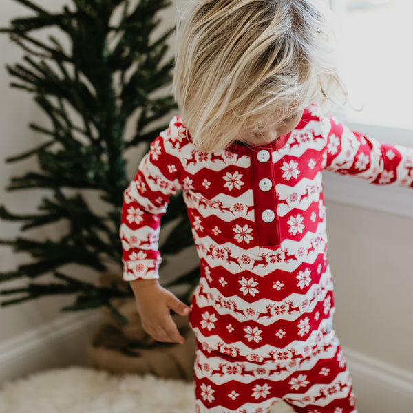 Dreamer 2 Piece - Simply Reindeer Red