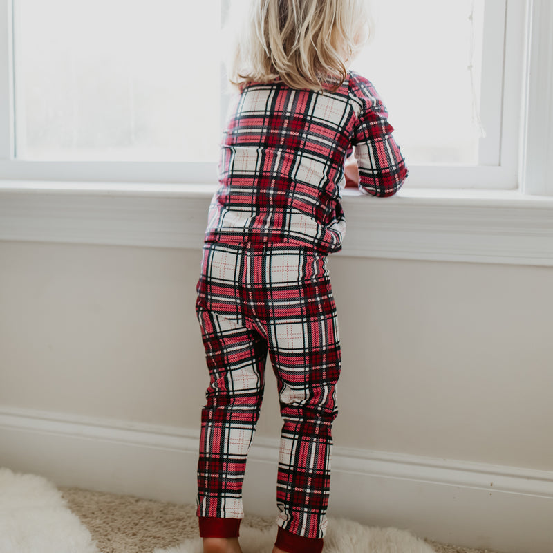 Dreamer 2 Piece - Simply Red Plaid