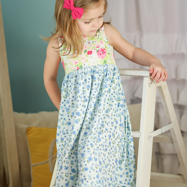 Dreamer Long Gown - Baby Blue