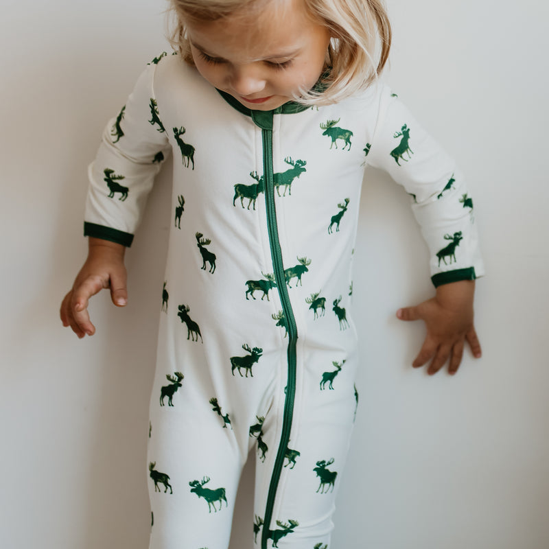 Dreamer Layette - Green Moose