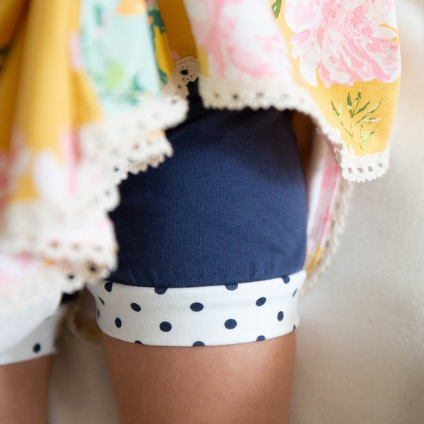 SweetHoney - Bitty Bloomers - Navy