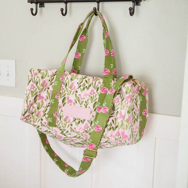 Everyday Duffel - Floral Spec