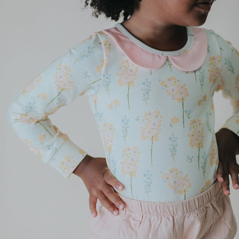 Lanie Layering Top - Peachy Blooms