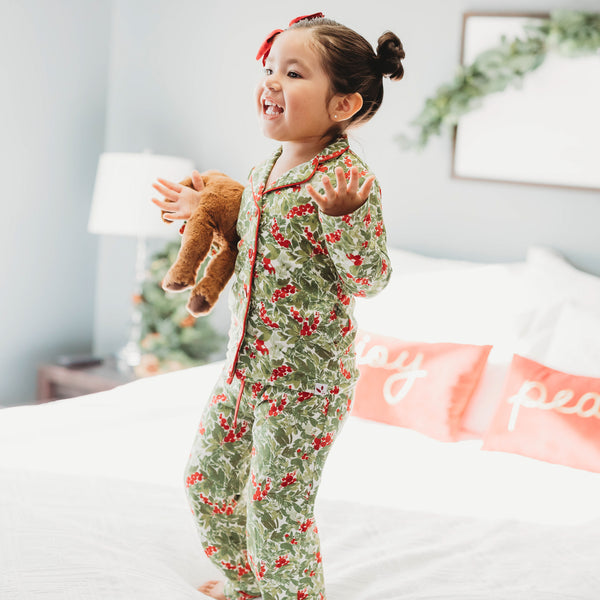 Cozy PJs - Holiday Foliage