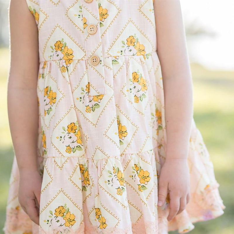 SweetHoney - Flowy Tunic - Pearl Pink