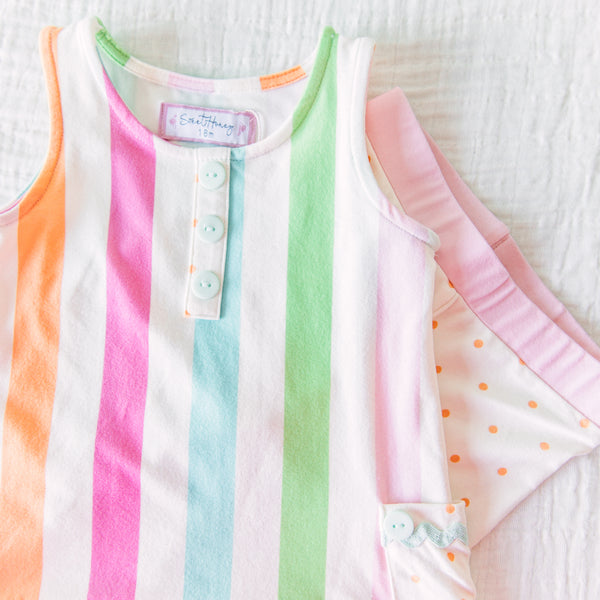 Dreamer 2 Piece - Cheery Stripe