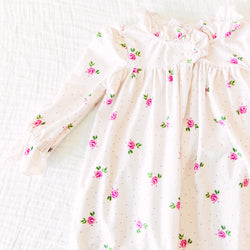 Sweet Ruffled Robe - Lovebug