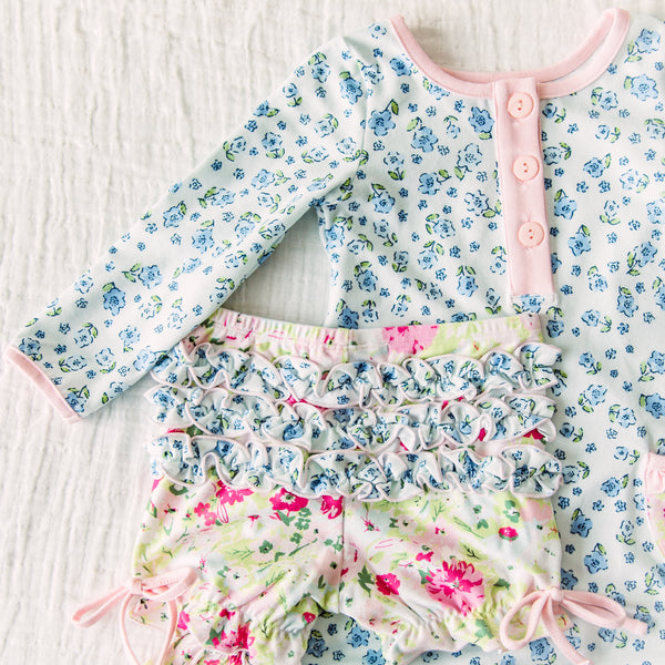 Dreamer Gown - Baby Blue