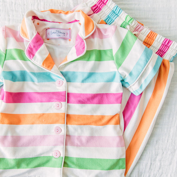 Cozy PJs - Cheery Stripe