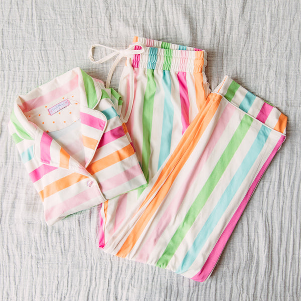 Women's Cozy PJ - Cheery Stripe