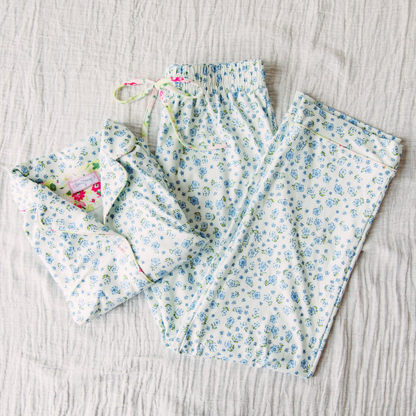 Women's Cozy PJ - Baby Blue