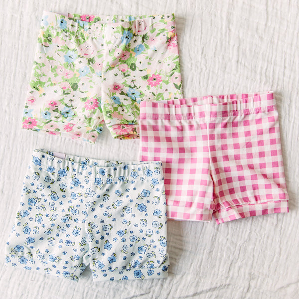 Bitty Shorties 3 Pack - Spring Mix