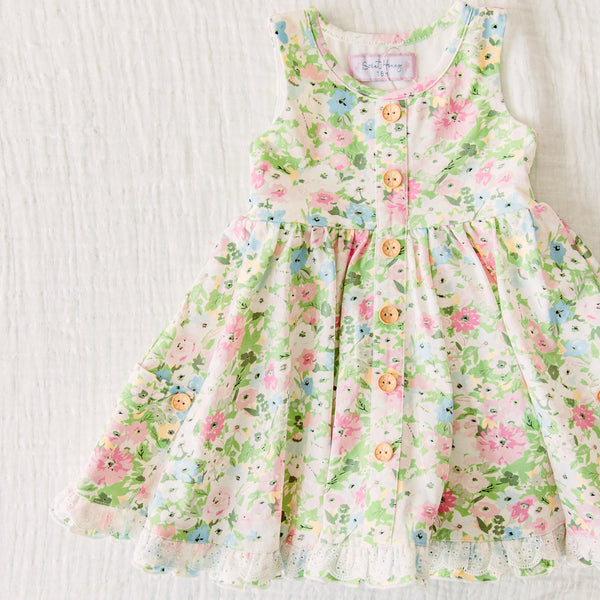 Prim Dress - First Blooms