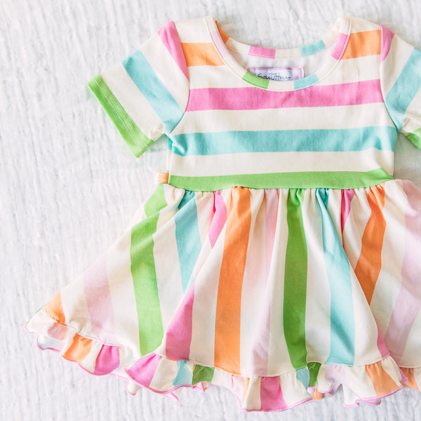 Belle Bubble - Cheery Stripe