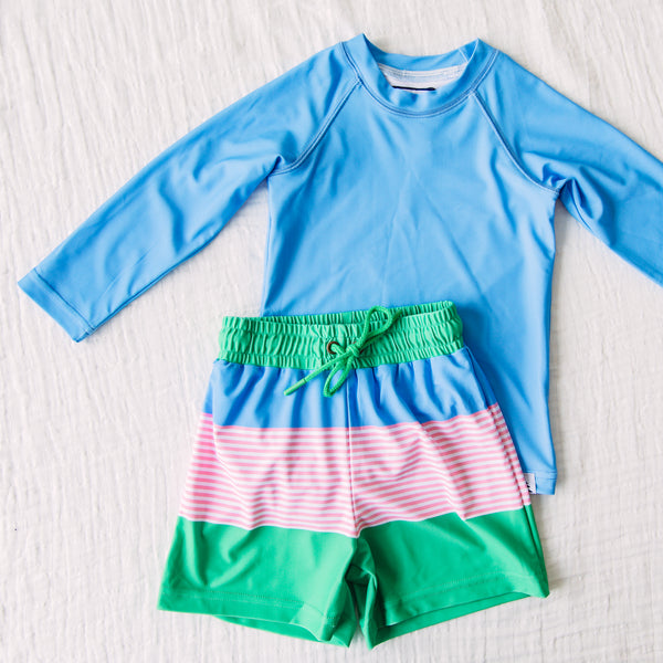 Boy's Swim Set – Preppy