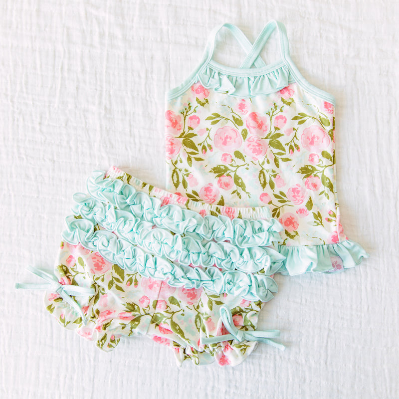 Cami Lounger Set - Freshest Blooms