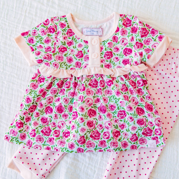 Dreamer 2 Piece - Covered in Roses
