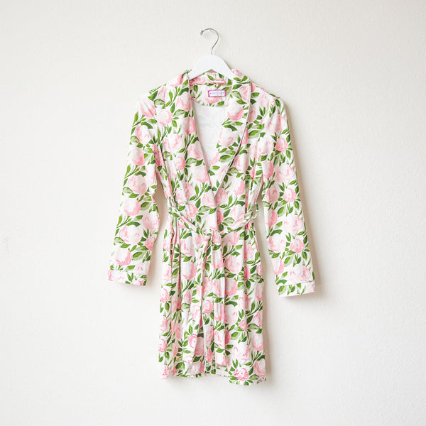 Classic Lounge Robe - Tumbling Whisp