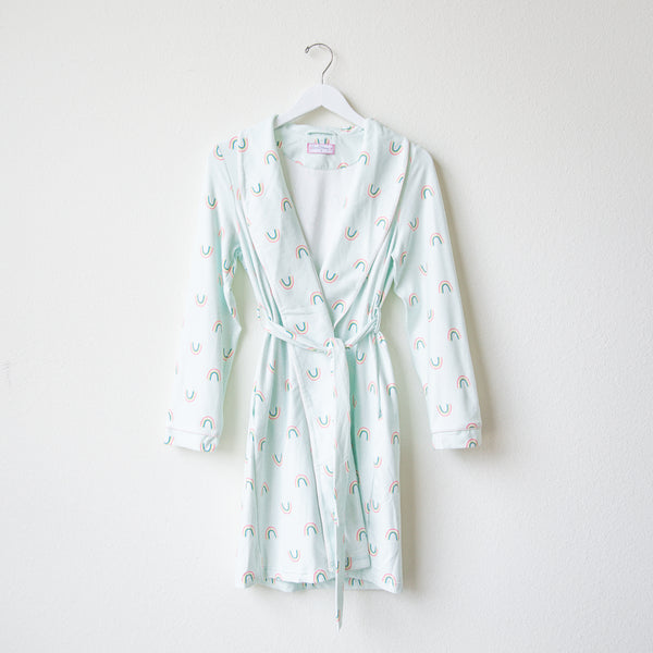 Classic Lounge Robe - Over the Rainbow