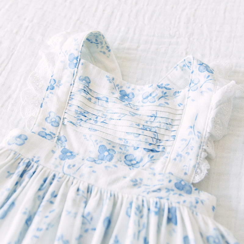 Pinafore - Blooms in Blue