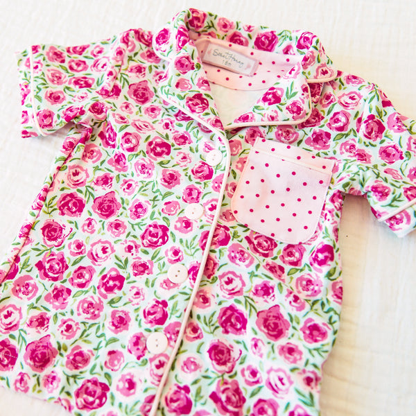 Cozy PJs - Covered in Roses