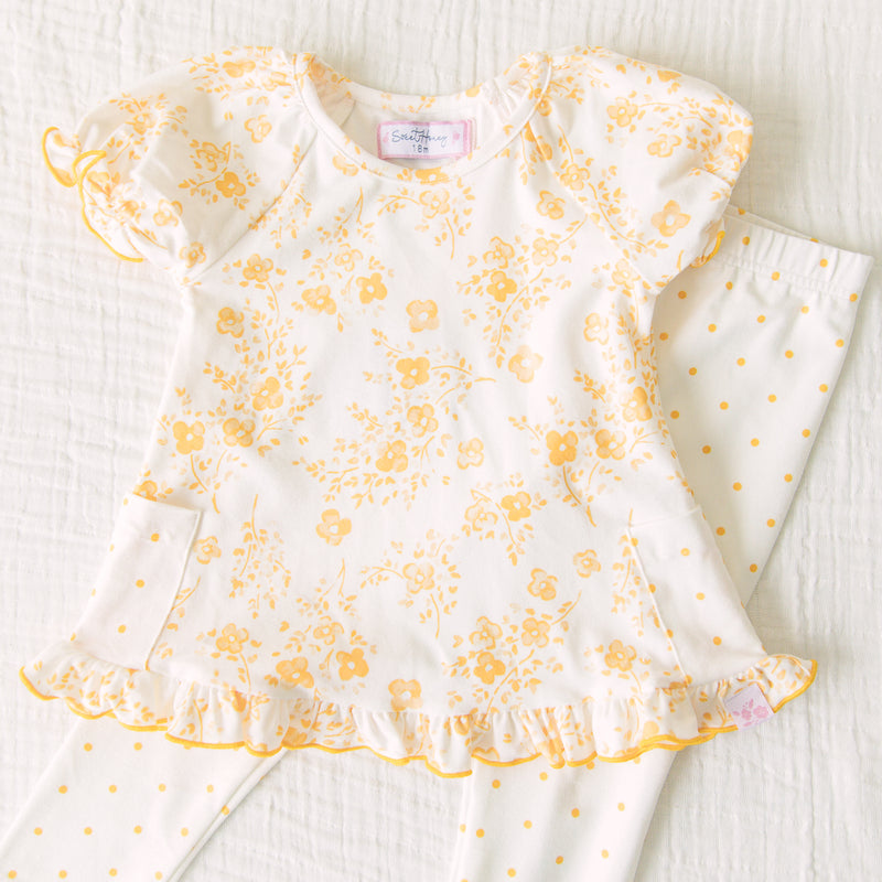 Dreamer 2 Piece - Blooms in Yellow