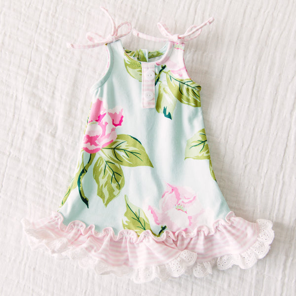 Doll Gown - Blue Magnolia