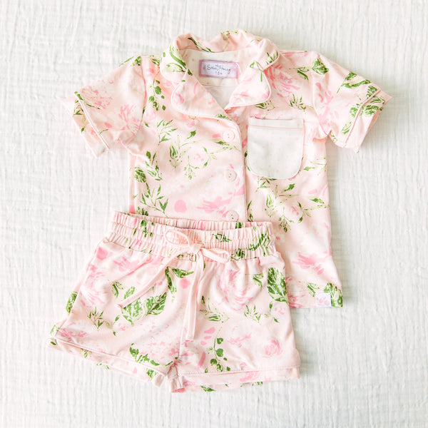 Cozy PJs - Swifting Floral Dotty