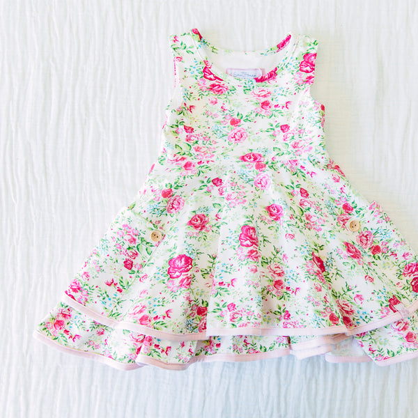 Hazel Dress - Flowy Pinks
