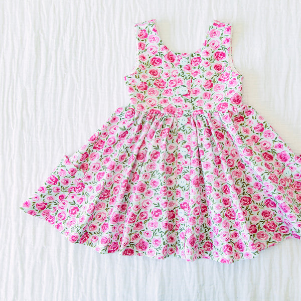 Prim Dress - Covered in Roses