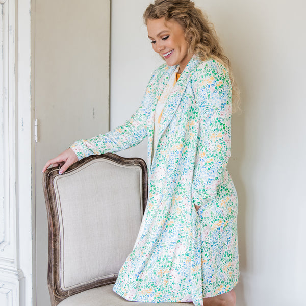 Classic Lounge Robe - Egg Hunt