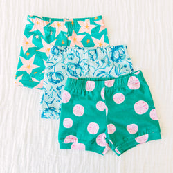 Bitty Shorties 3 Pack – Under the Sea Mix