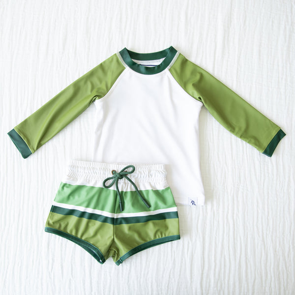Boy's Swim Set - Moss