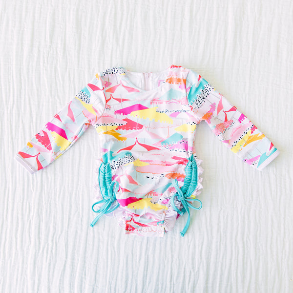 Solid Rash Guard - Beach Days