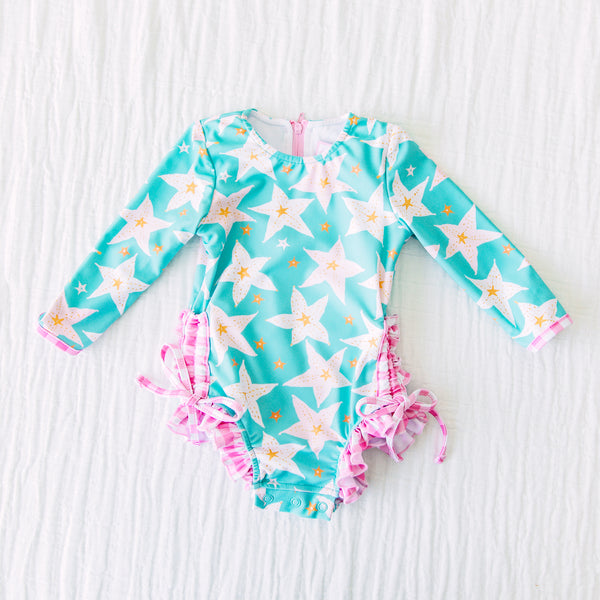 Solid Rash Guard - Starfish