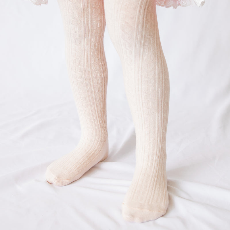 Tights - Peachy Pink